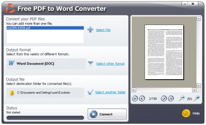 pdf to word converter with key free