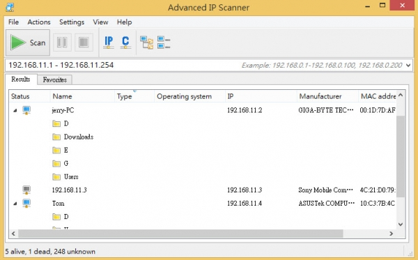 Advanced IP Scanner Latest Version Free Download