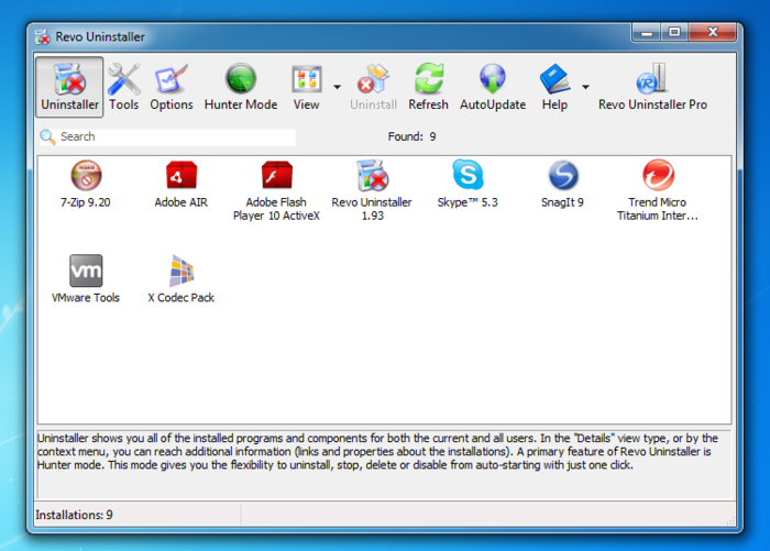 Download Free Revo Uninstaller