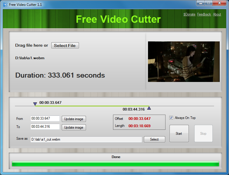 Video Cutter Latest Version Free Download