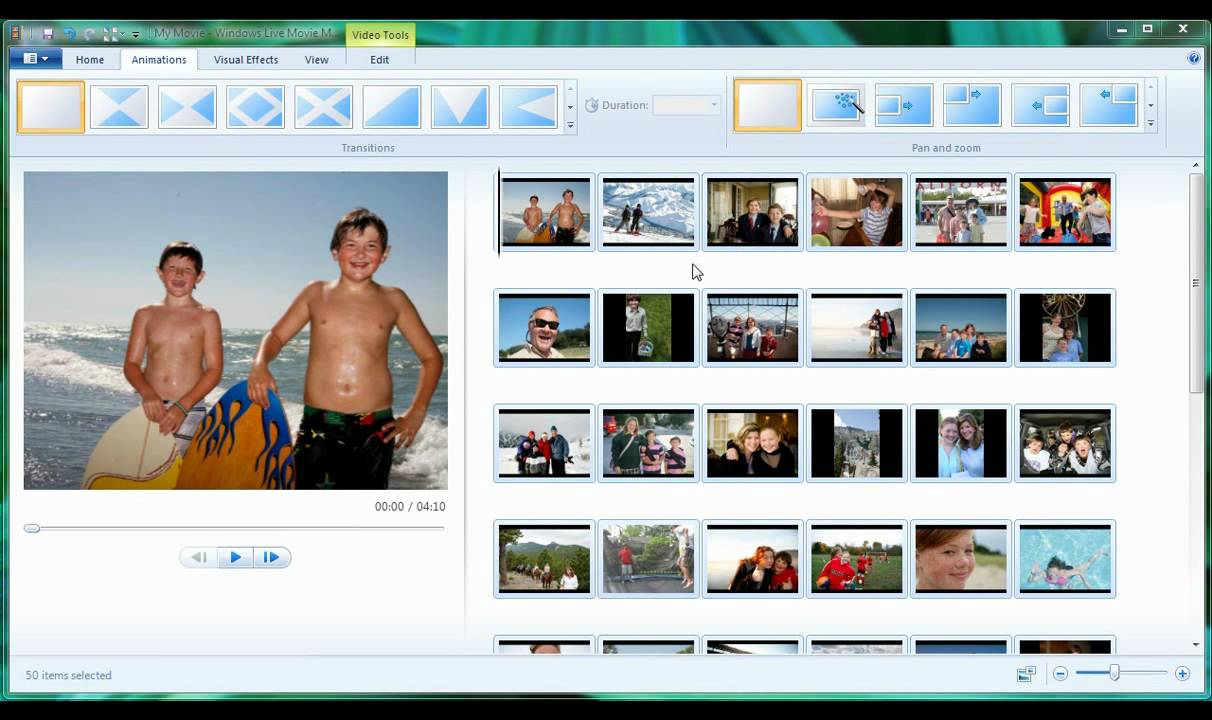 Windows Live Movie Maker Free