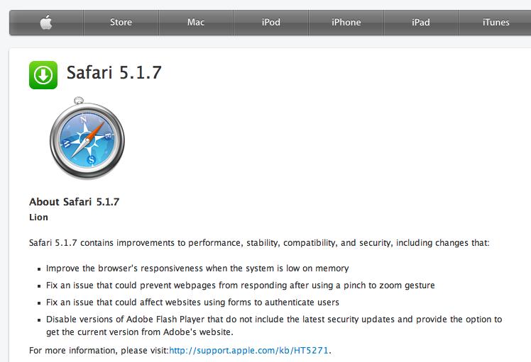 Apple Safari Free