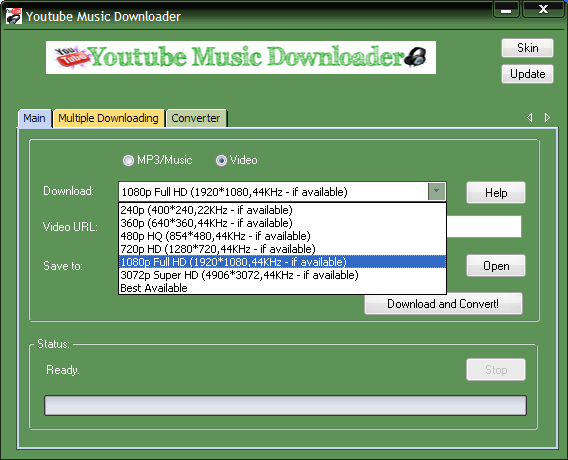 Best Software for Youtube music downloading