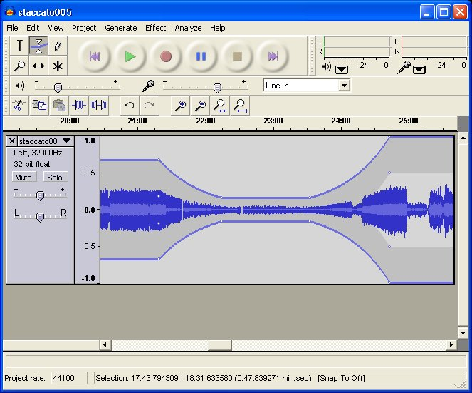 Download Audacity 2.1.2