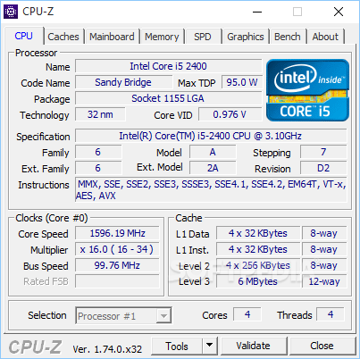 Free Download CPU-Z