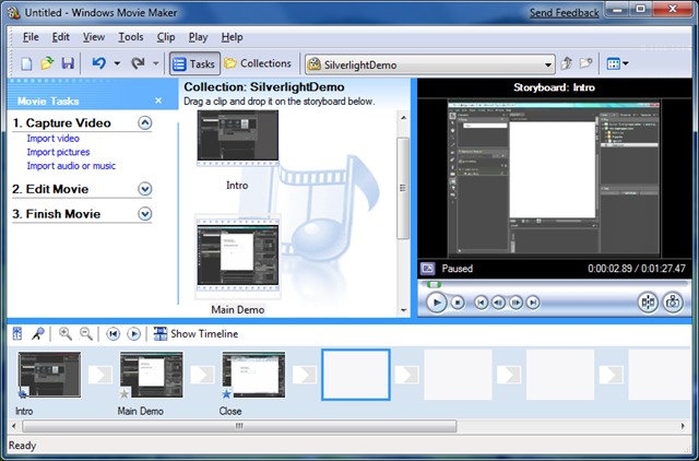 Microsoft Windows Movie Maker 2.6 Free Download Windows 7