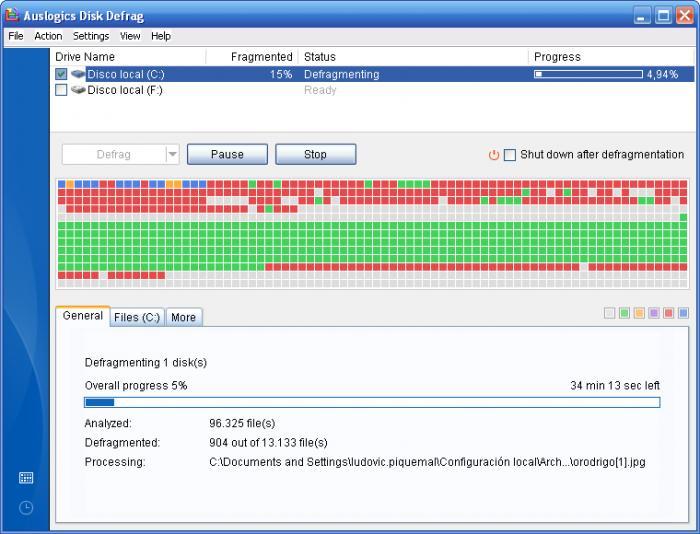 Download Free Auslogics Disk Defrag