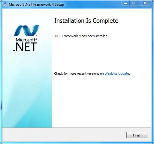 Free Microsoft .Net Framework 4
