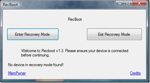 Free RecBoot