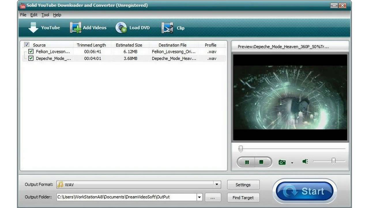 Free Solid YouTube Downloader and Converter