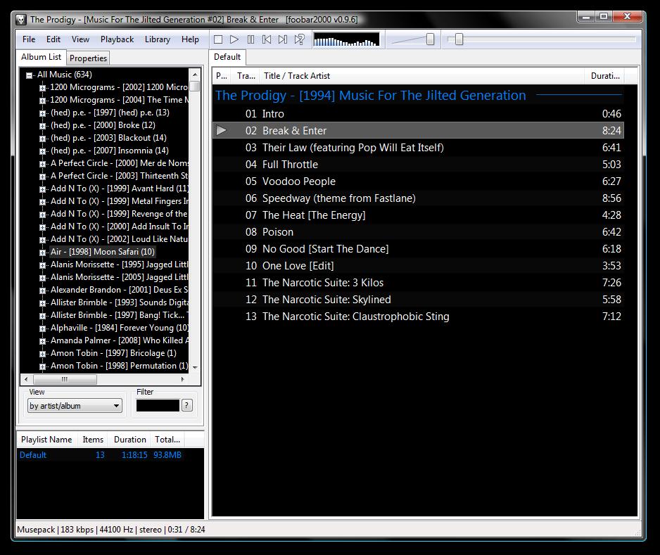 foobar2000 Free Download full setup