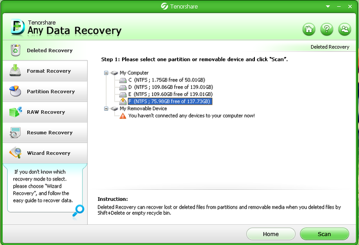 Free Any Data Recovery full version