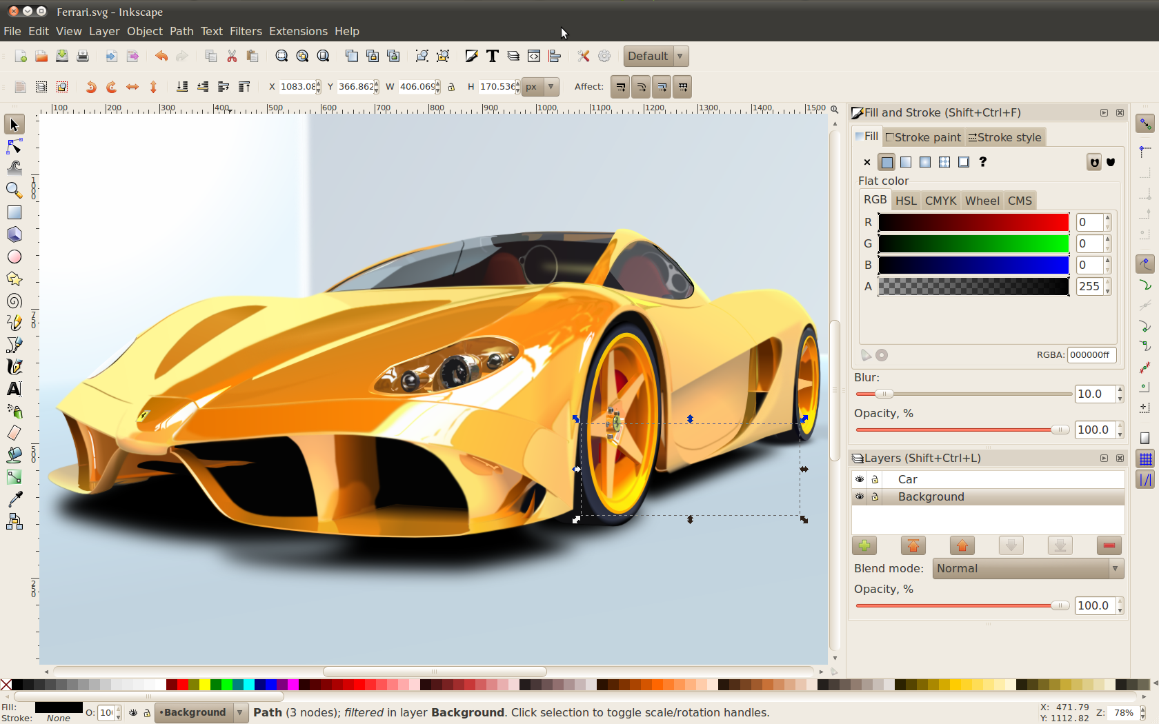 Inkscape 0.92 Free Download portable