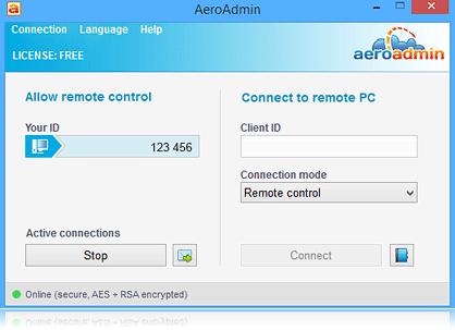AeroAdmin 4.1.2767 Free download for windows 7