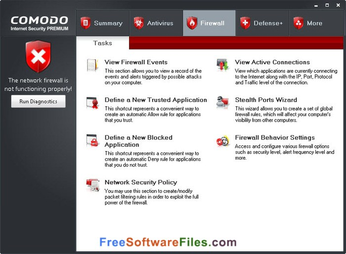 comodo internet security review V10