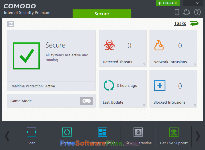 comodo internet security windows 10