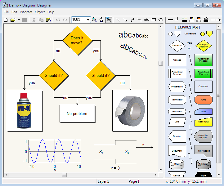 Diagram designer free download Best open source flowchart software