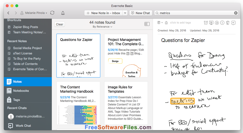 evernote free download review