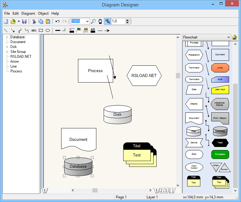 Diagram designer free download meesoft diagram designer ccuart Choice Image
