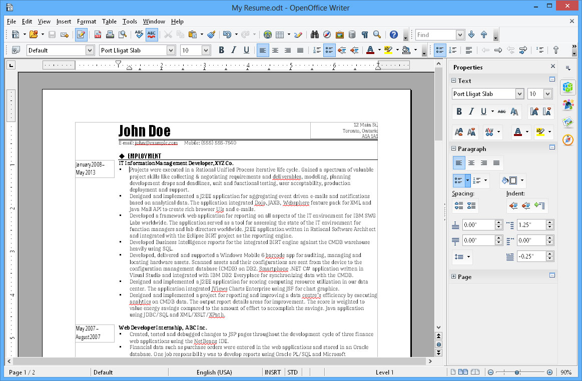 openoffice for windows