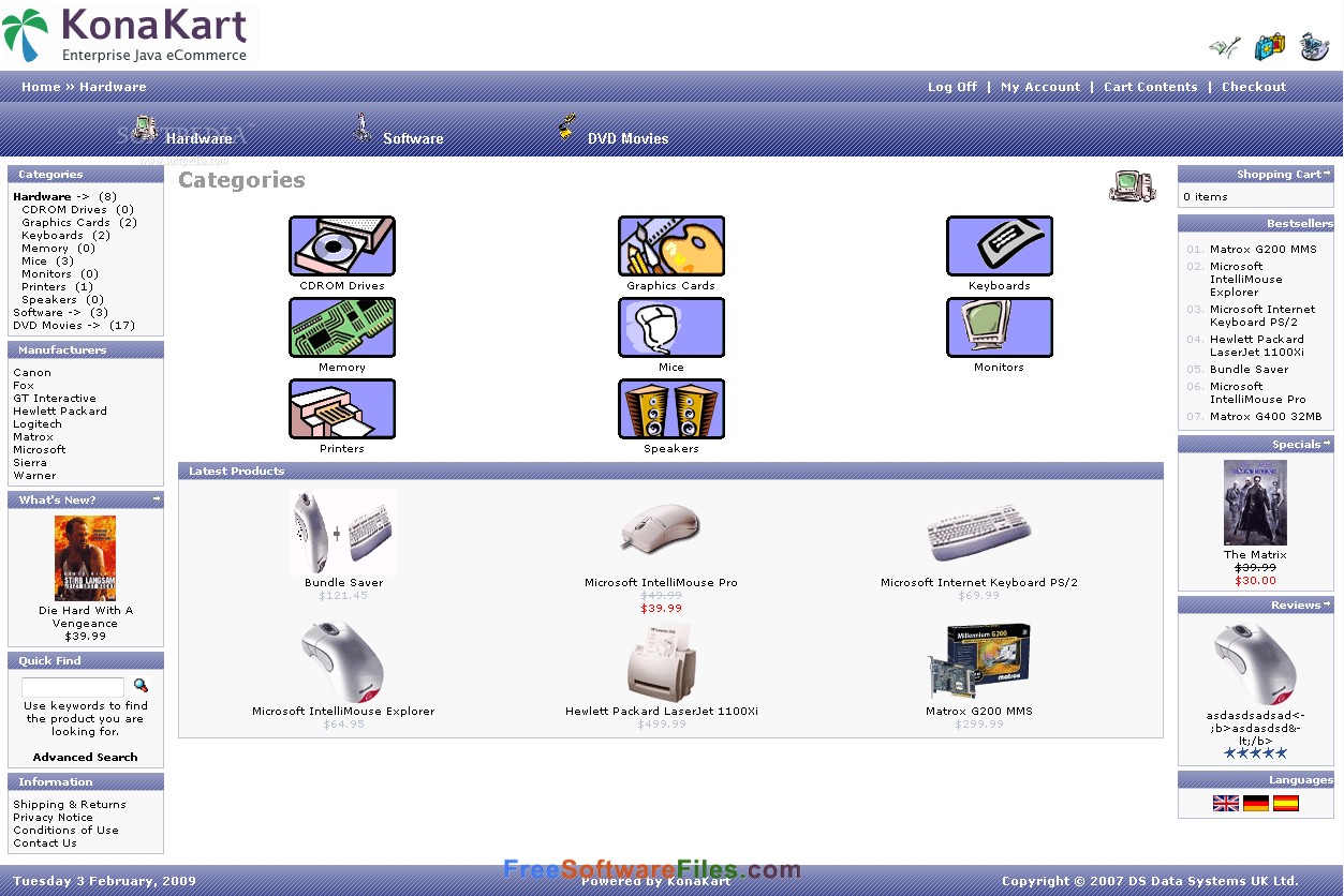 Konakart 8.5.0.0 Free Download for windows