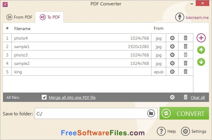 icecream pdf converter download
