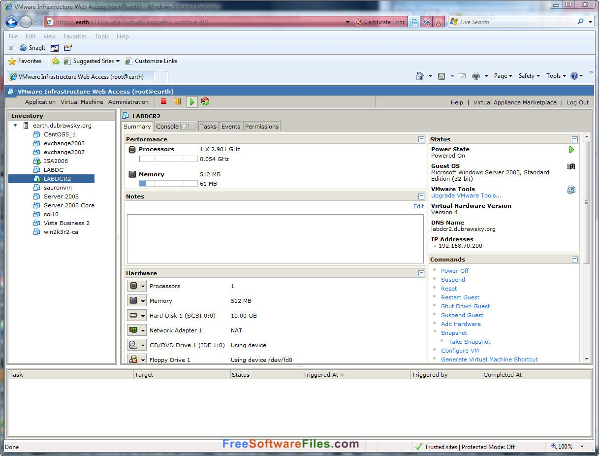 vmware server free download for windows 7 64-bit