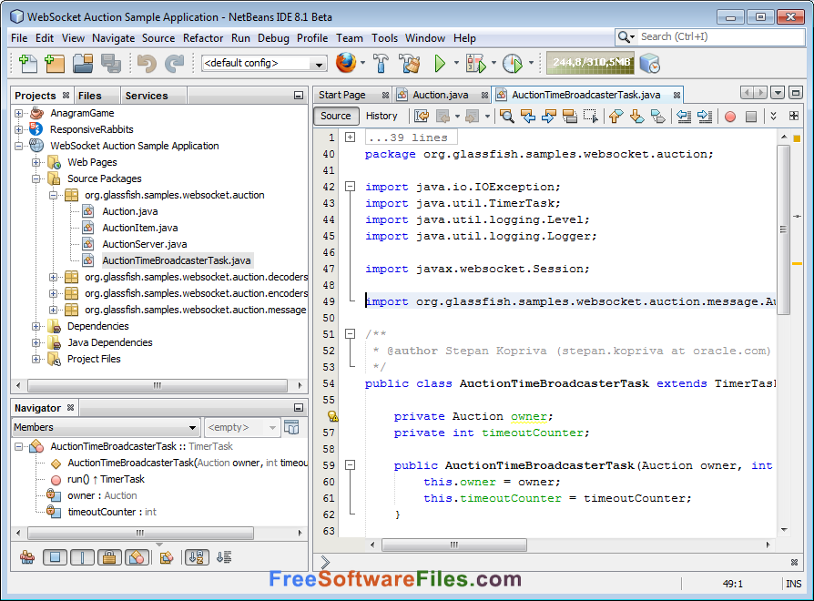 NetBeans IDE 8.2 Free Download latest version