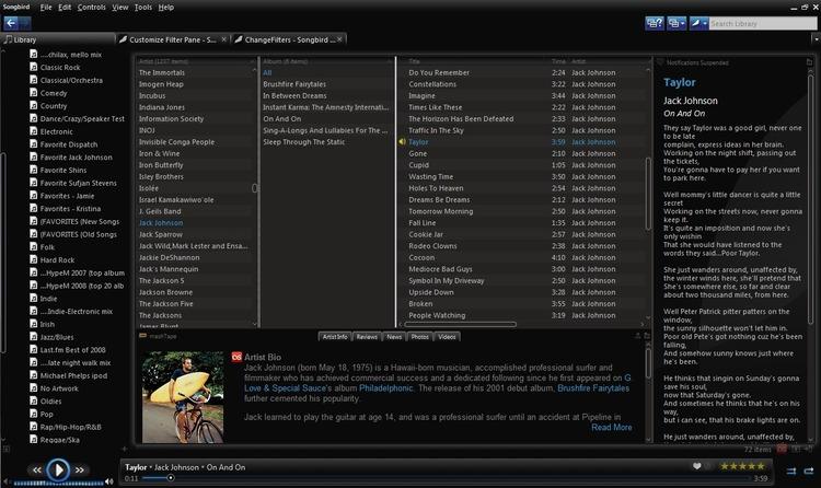 Free Download Songbird 2.2.0