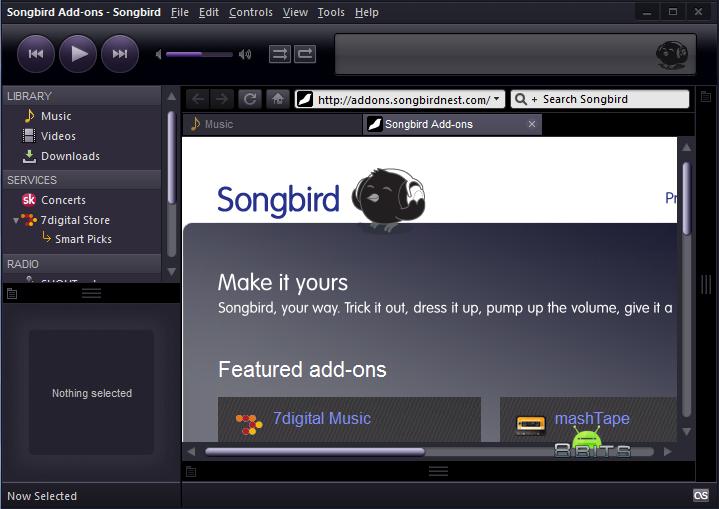Songbird 2.2.0 Free Download latest version