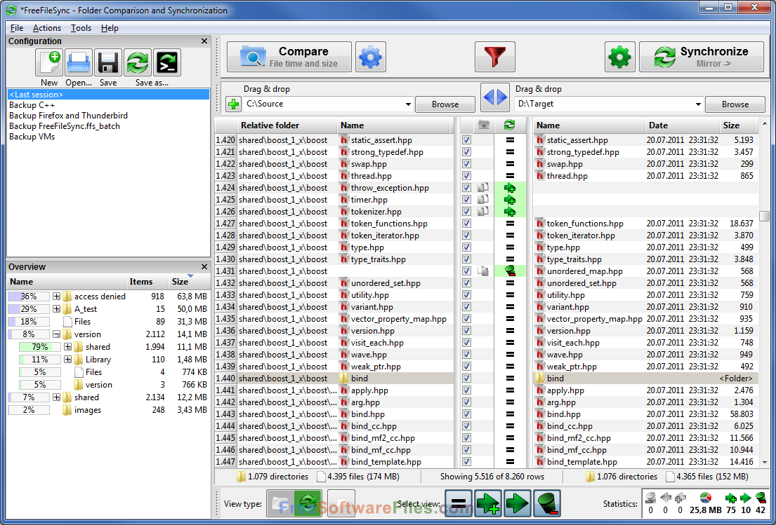 freefilesync 9.1 Free Download review