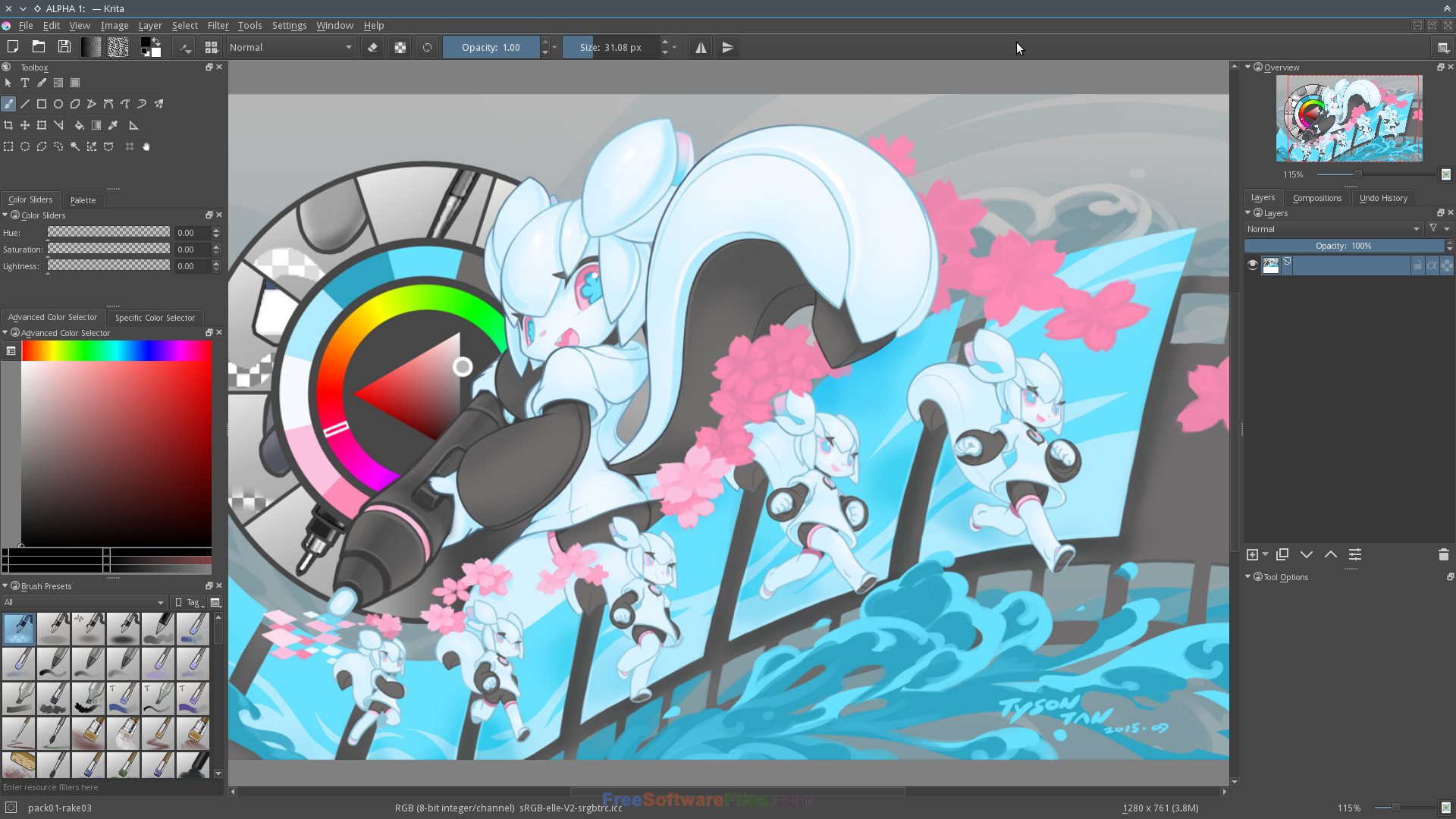 krita 3.1.3 Free Download animation