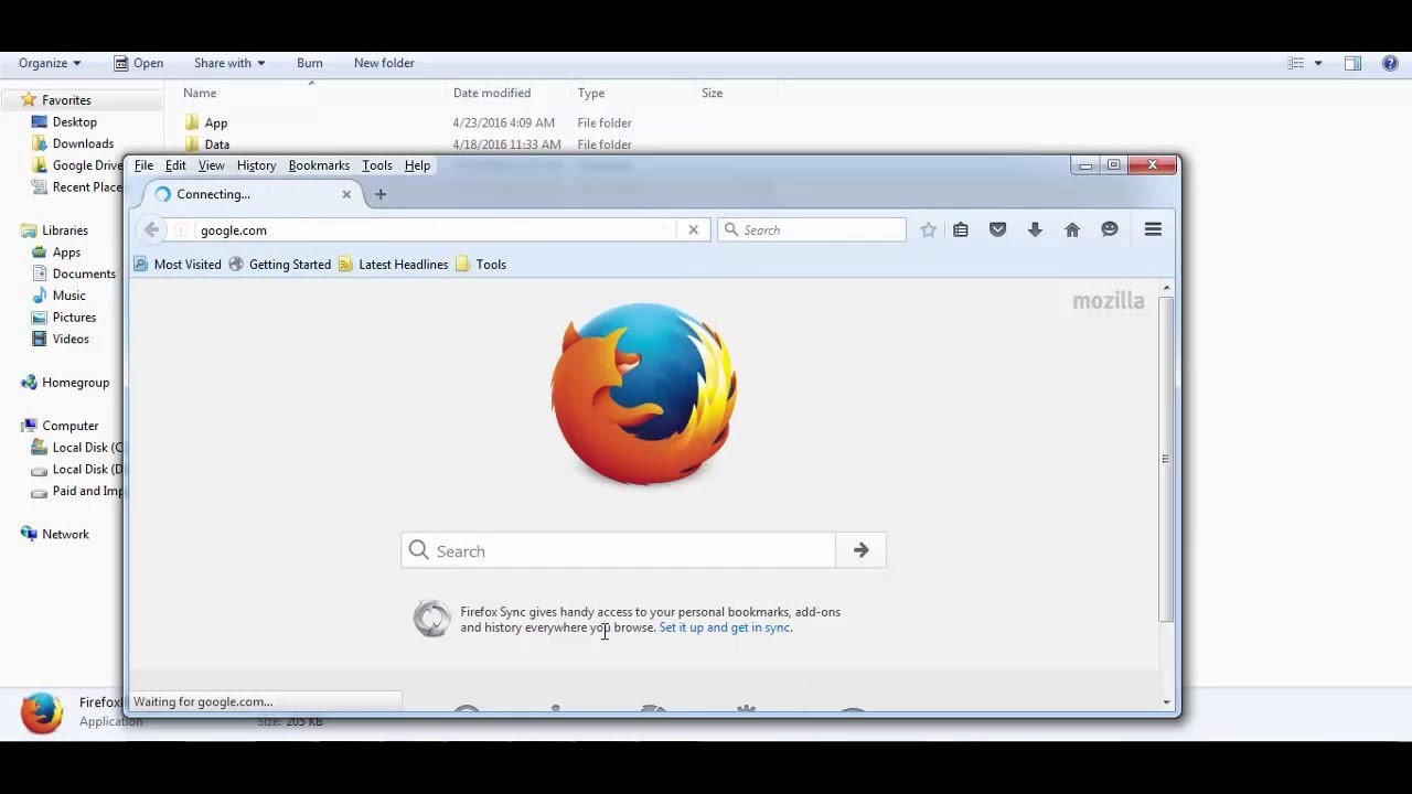 Mozilla Firefox Portable 53.0.3 Free for pc