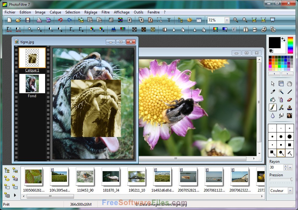 PhotoFiltre Free Download fro Windows 7 and Windows 10