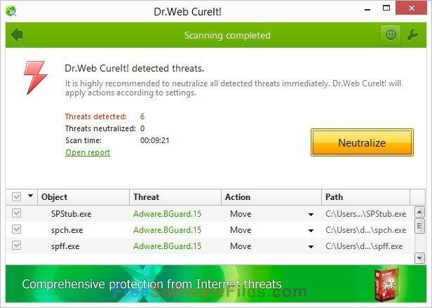 dr web antivirus for pc