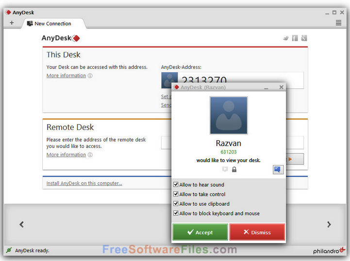 AnyDesk 3.4.0 Free Download latest version