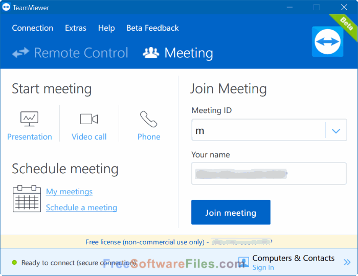TeamViewer 12.0.78716 Free Download latest version