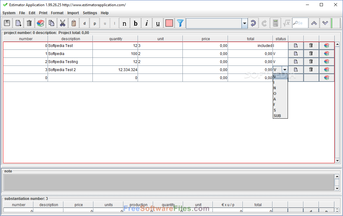 Estimator Free Download