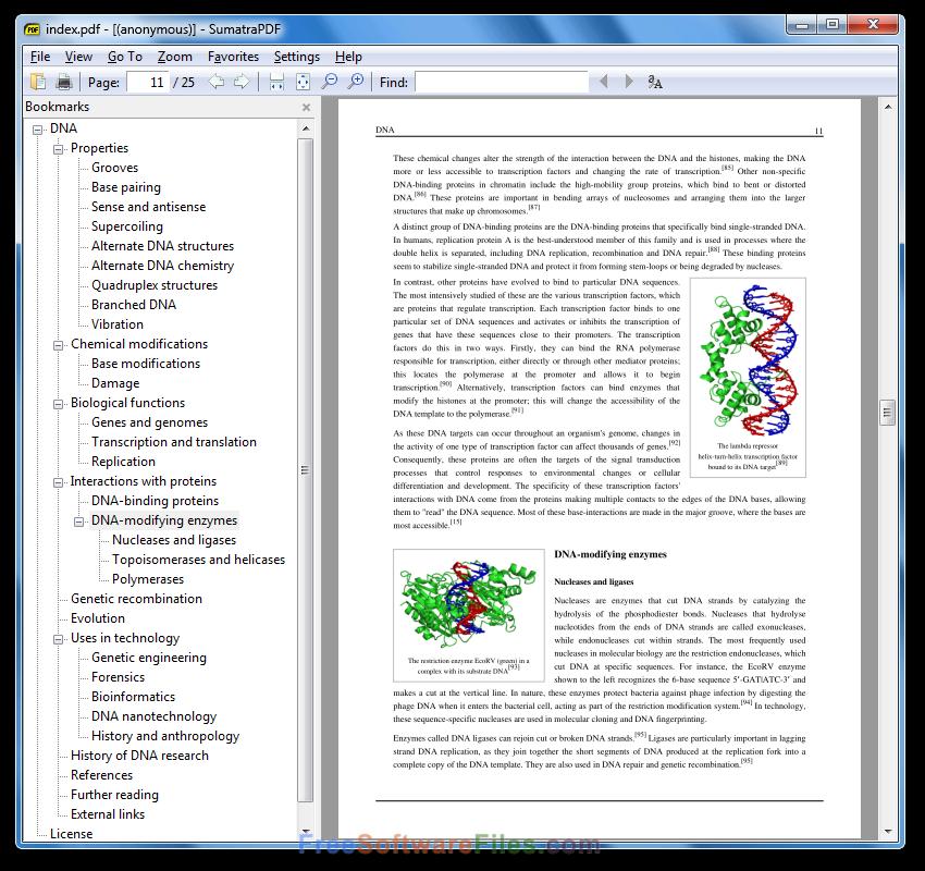 sumatra PDF 3.1.2 editor