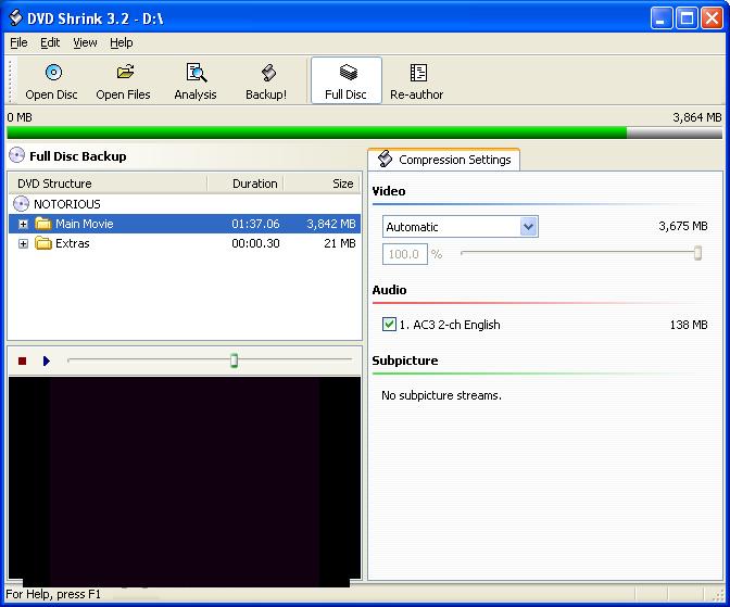 DVD Shrink 3.2.0.15 Free Download windows 10