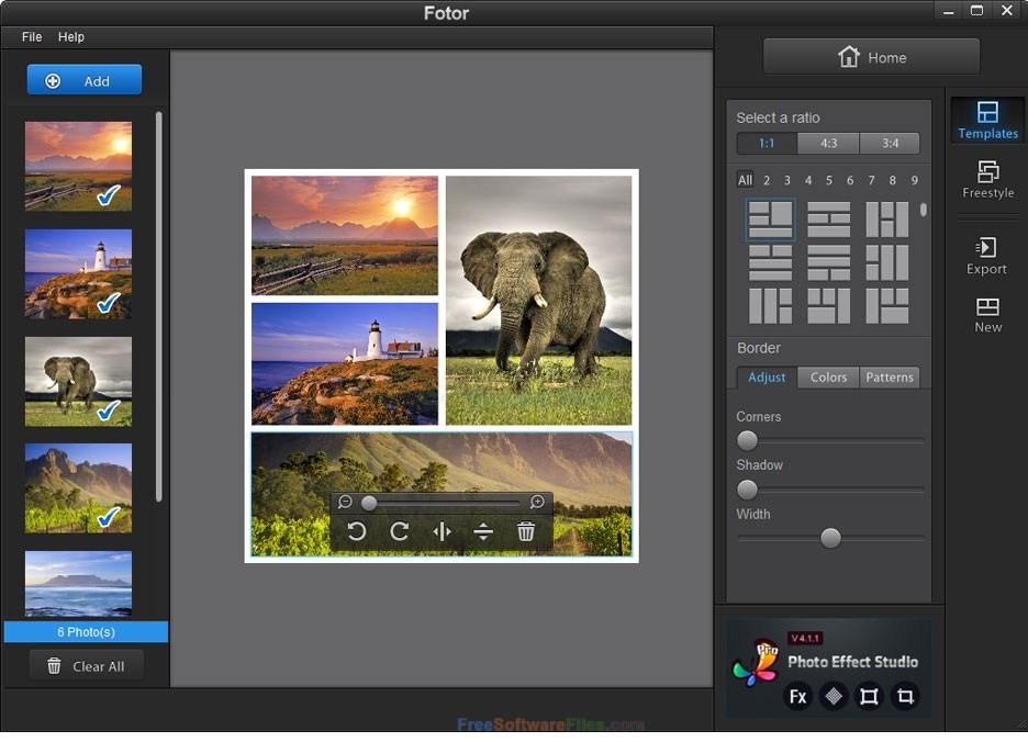 Fotor 3.1.1 photo editor free