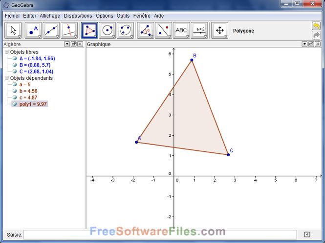 GeoGebra 6.0.374.0 Free Download latest version