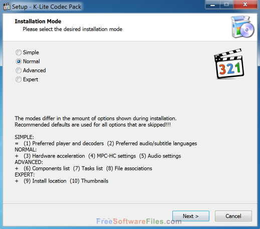 K-Lite Codec Pack Full 13.4.0 Free Download for pc