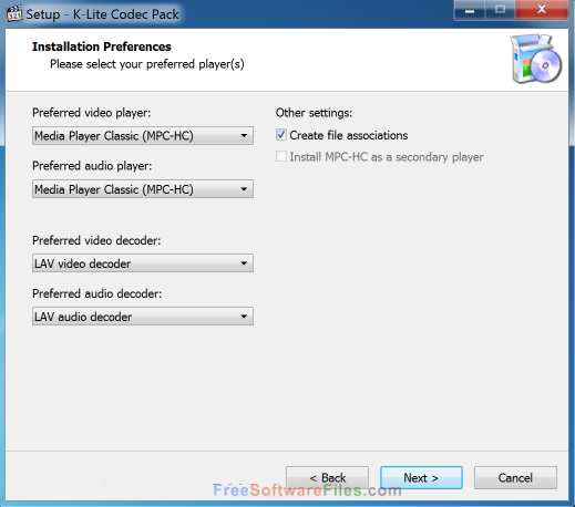 K-Lite Codec Pack Full 13.4.0 latest version