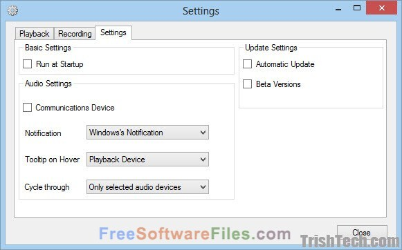 SoundSwitch 3.15.1 Free Download for windows