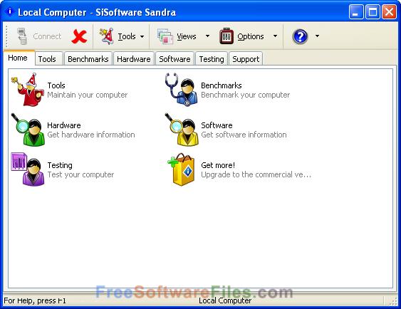 sisoftware sandra portable