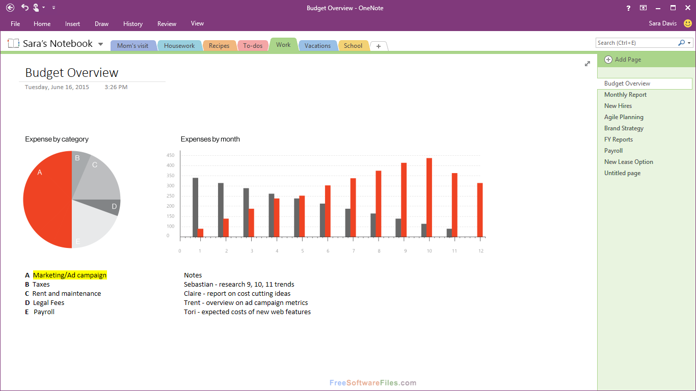 Microsoft OneNote 2016 Free Download for Windows