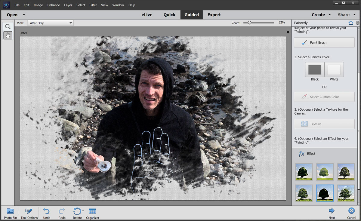 Photoshop to batch in how edit