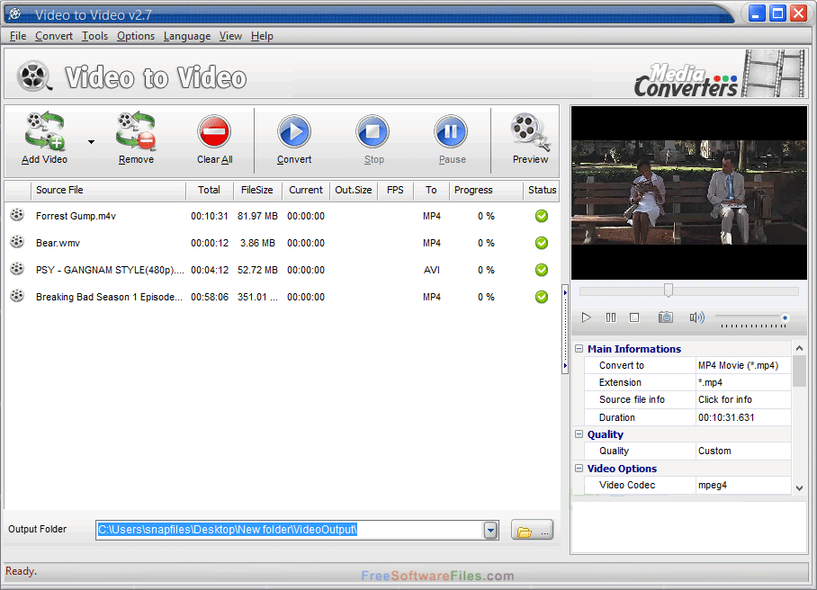 video to video download