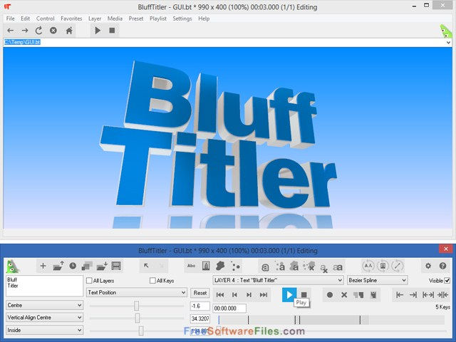 BluffTitler Ultimate Free Download offline installer